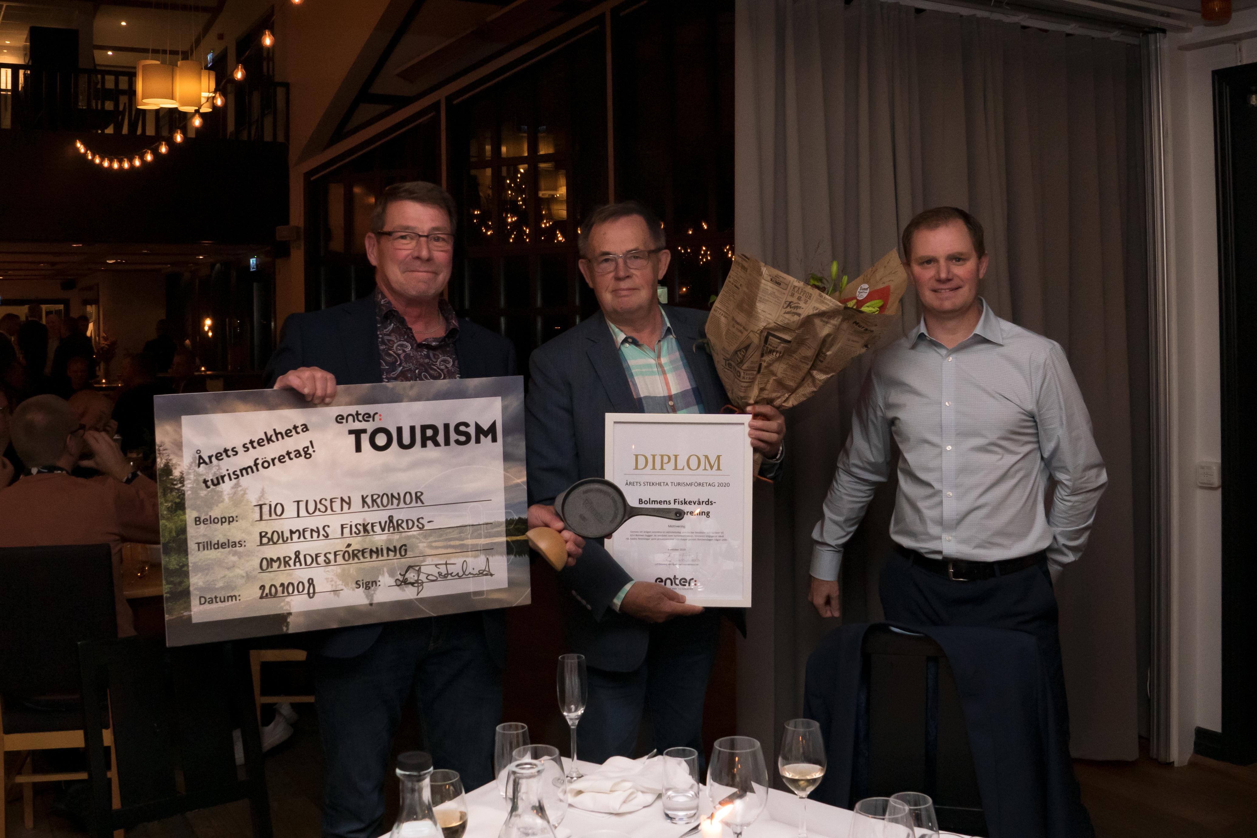 Årets turistpris - Bolmens Fiskevårdsområdesförening