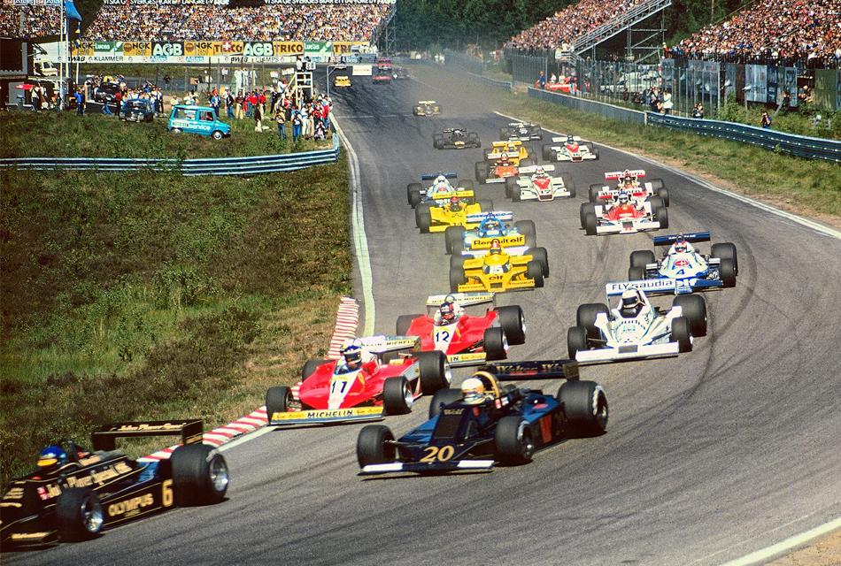 F1 starten