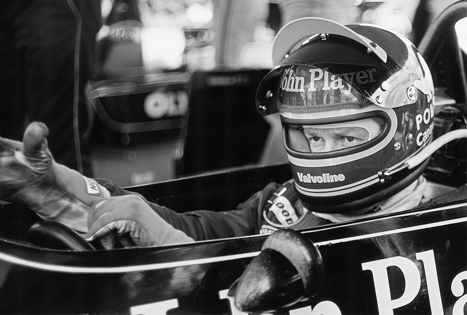 Ronnie Peterson F1 bilen